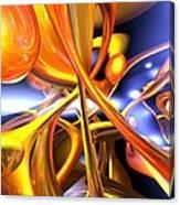 Vibrant Love Abstract Canvas Print