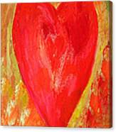 Vibrant Love Canvas Print