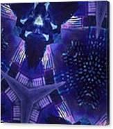 Vibrant Shades Of Blue 9 Canvas Print