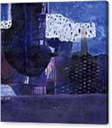 Vibrant Shades Of Blue Canvas Print