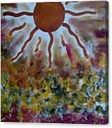Vibrations II Canvas Print