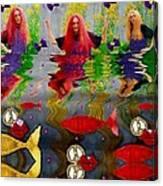 Vice Versa Pop Art Canvas Print