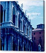 Vicenza Piazza del Signore 1962 Canvas Print