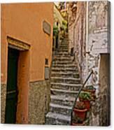 Vicolo Della Valle Riomaggiore Italy Dsc02537  Canvas Print