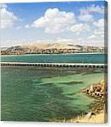 Victor Harbour Panorama Canvas Print