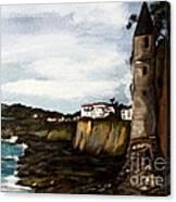 Victoria Beach Laguna Beach Canvas Print