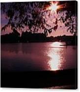 Victoria British Columbia Sunset Canvas Print