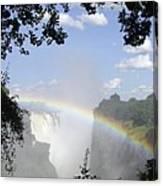 Victoria Falls Rainbow Canvas Print