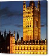 Victoria Tower - London Canvas Print