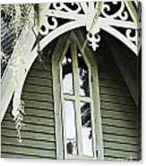 Victorian Gable St Francisville Louisiana Canvas Print