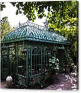 Victorian Greenhouse Canvas Print