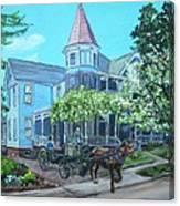 Victorian Greenville Canvas Print