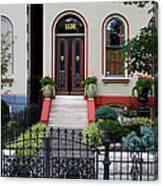 Victorian House Lafayette Sq St Louis Canvas Print