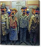 Victorian Musee Mecanique Automated Puppets - San Francisco Canvas Print