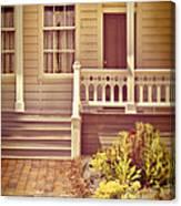 Victorian Porch Canvas Print