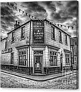 Victorian Pub Canvas Print