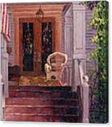 Victorian Rocking Chair Canvas Print