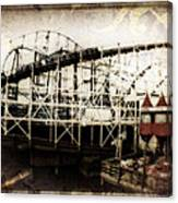 Victorian Roller Coaster Canvas Print