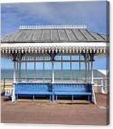 Victorian Shelter - Weymouth Canvas Print