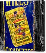 Victorian Sign Canvas Print