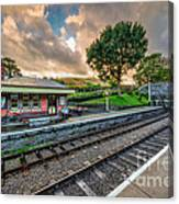 Victorian Station Canvas Print