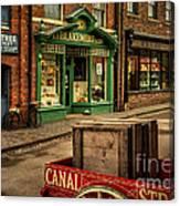 Victorian Town Canvas Print