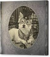 Victorian Westie Canvas Print