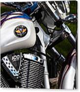 Victory 100 Cubic Inches Canvas Print
