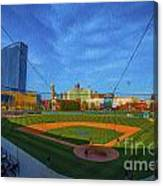 Victory Field Home Plate Canvas Print