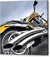 Victory Motorcycle 106 Vertical Canvas Print