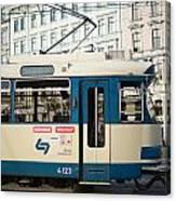 Vienna Tram Canvas Print