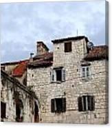 Vies Of Split Croatia Canvas Print