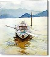 Vietnam Boat Canvas Print