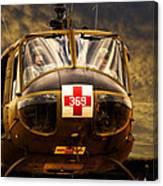 Vietnam Era Medivac 369 Helicopter Canvas Print