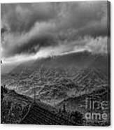 Vietnam Sapa Hills Canvas Print