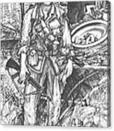 Vietnam Soldier Canvas Print