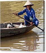 Vietnamese Boatwoman 01 Canvas Print