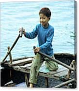 Vietnamese Boy Canvas Print