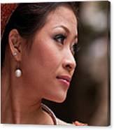 Vietnamese Bride 12 Canvas Print