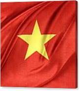 Vietnamese Flag Canvas Print