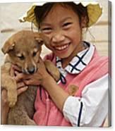 Vietnamese Girl 02 Canvas Print