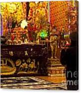 Vietnamese Temple Canvas Print