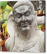 Vietnamese Temple Statue Canvas Print