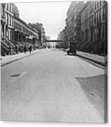View East On 78th Street Canvas Print