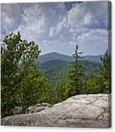 View From A Mountain In A Vermont Canvas Print