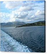 View From A Scottish Ferry Canvas Print