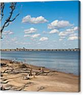 View From Big Talbot Island Beach Canvas Print
