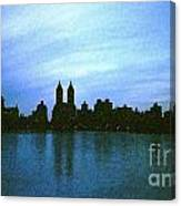 View From Central Park Canvas Print