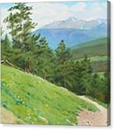 View From Deer Mountain Canvas Print