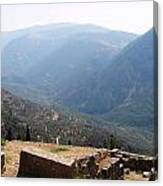 View From Delphi 2 Canvas Print